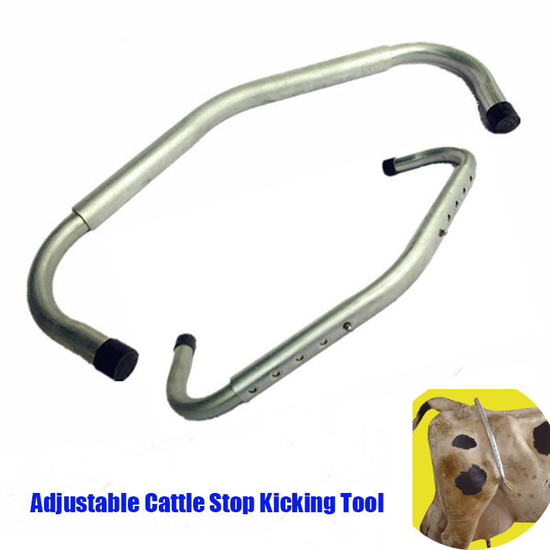 Bovins réglables ne pas botter le sabot arrêter outil de coup de pied vaches rétractables ne pas botter le bâton bétail bétail ferme animaux moutons