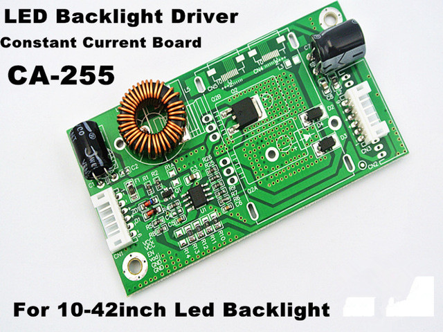 5piece  CA-255 Universal 10-42 Inch LED LCD TV Backlight Driver Board TV Constant Current Board Boost Universal Modification