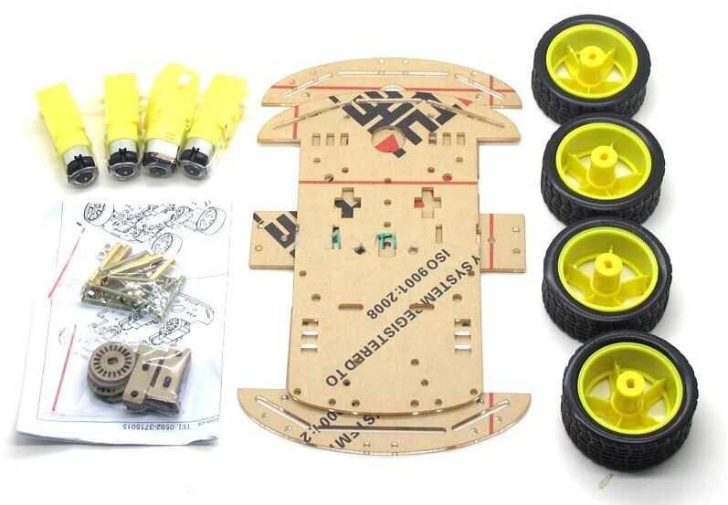 4wd robot chassis kits