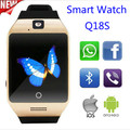 The new fashion Q18S Bluetooth smart watches independent plug SIM card phone smart watches