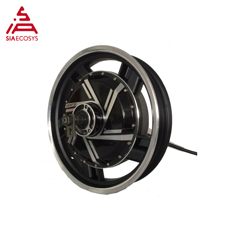 QS 16*3.0inch <font><b>3kW</b></font> 72V-96V 273 V2 BLDC <font><b>Motor</b></font> for Electric Scooter Motorcycle image