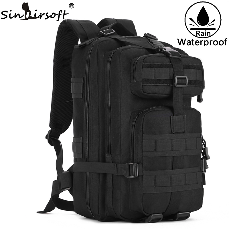 Gift! SINAIRSOFT 40L Outdoor Sports Tactical Bag Nylon Shoulder Waterproof Military Backpack Computer Hiking Bags Hunting Bag outdoor sports double shoulder bag student bag computer bag waterproof pack free shipping