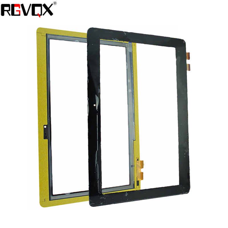 New For Asus T100TA3740 Yellow flat cable 10.1''inch Black Touch Screen Digitizer Sensor Glass Panel Tablet PC Replacement Parts for asus zenpad c7 0 z170 z170mg z170cg tablet touch screen digitizer glass lcd display assembly parts replacement free shipping