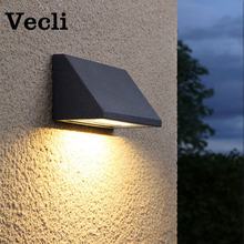 Waterproof outdoor wall lamp garden led lighting balcony backyard residential villa decorative wall light fixtures fashion outside decorative wall light waterproof buitenlamp residential villa outdoor lighting villa corridor balcony wall lamp