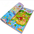 Double Side Play Mat Cartoon Baby Crawling Mat Game Pad  Picnic Carpet 200*180*2cm