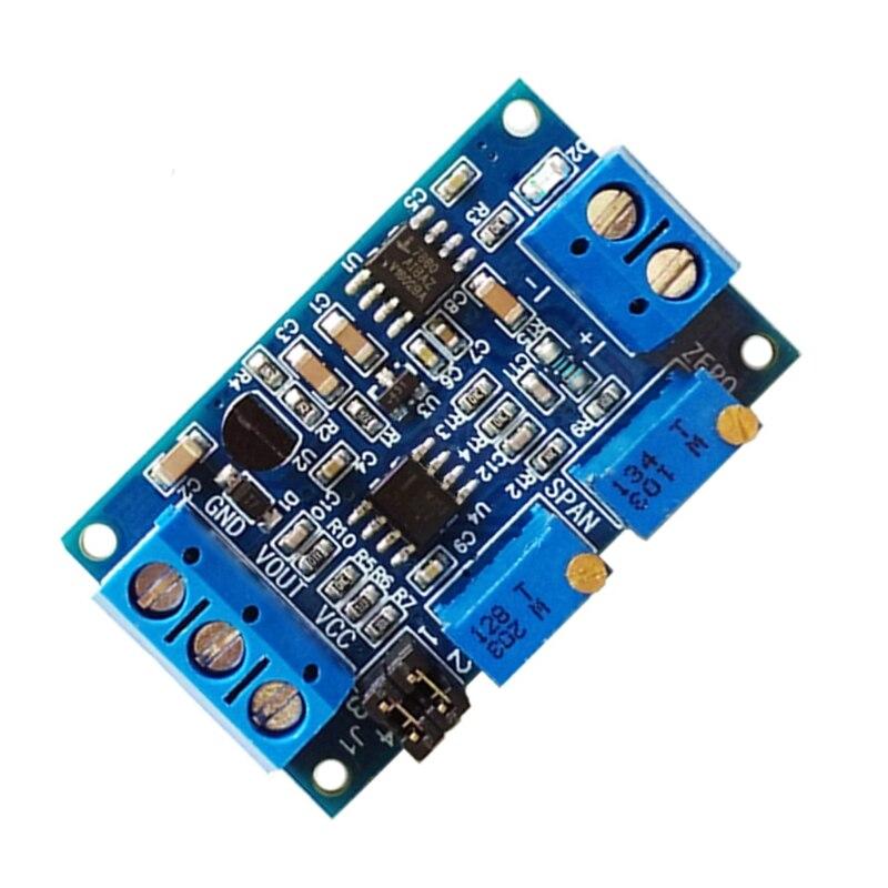 Current To Voltage Module 0/4-20mA To 0-3.3V 5V 10V Voltage Transmitter Drop ship