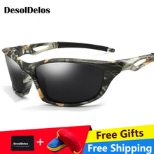 Men Driving Sunglasses Polarized Mirror Sun Glasses Classic Night Goggles Brand Designer Eyewear UV400 Gafas de sol with box стоимость
