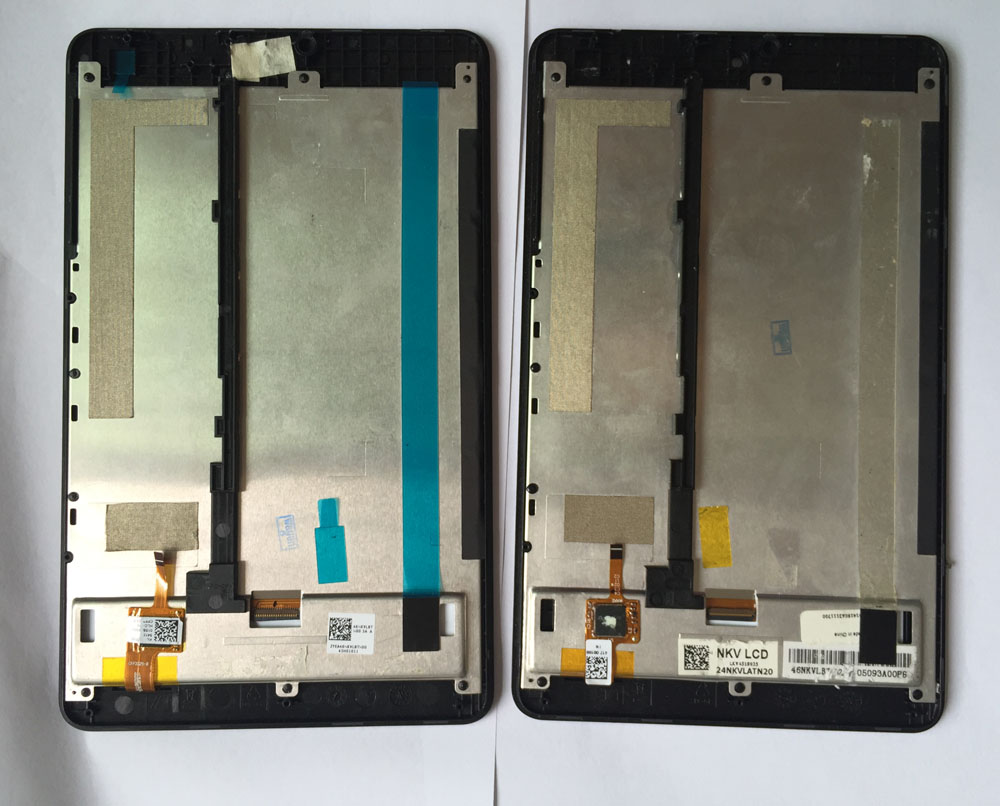 7 Inch used parts For Acer Iconia One 7 B1-730 LCD Display Digitizer+TOUCH SCREEN with frame in stock