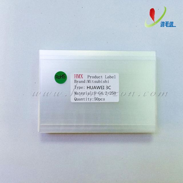 50x 250um OCA óptica clara pegamento adhesivo película pegatina de doble cara para HUAWEI 3C G700 LCD reparación de la pantalla táctil de la máquina laminadora