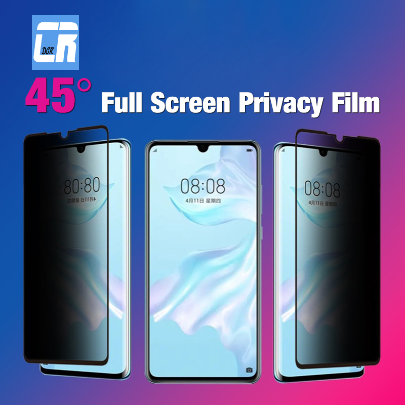 Anti Spy Tempered <font><b>Glass</b></font> for <font><b>Samsung</b></font> <font><b>Galaxy</b></font> A50S A30 A10 A80 A20 M10 M20 S10E <font><b>J4</b></font> J6 A6 A8 <font><b>2018</b></font> Protect Privacy Screen Protector image