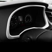 Car Styling Dashboard Dash Board Trim Chrome Decoration Sticker Frame Cover For Hyundai Tucson 2015 2016