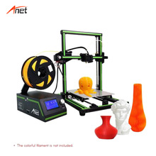 Anet E10 High Performance 3d Drucker Plus Size Build Volume Metal Frame Impressora 3d 1 roll of PLA filament 8GB SD Card as Gift