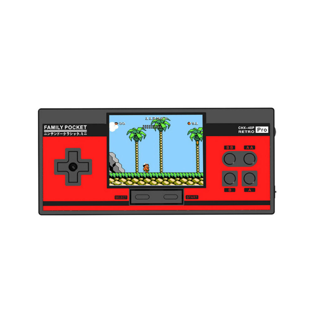 RS88 Family Pocket Game Console Retro Portable Mini Handheld Game Player Built In 348 Classic Games 3.0 Inch Color LCD For NES G