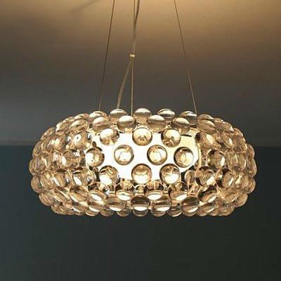 Modern Pendant Lights Fixtures For Living Dining Room Ring 35 50 65CM Gold