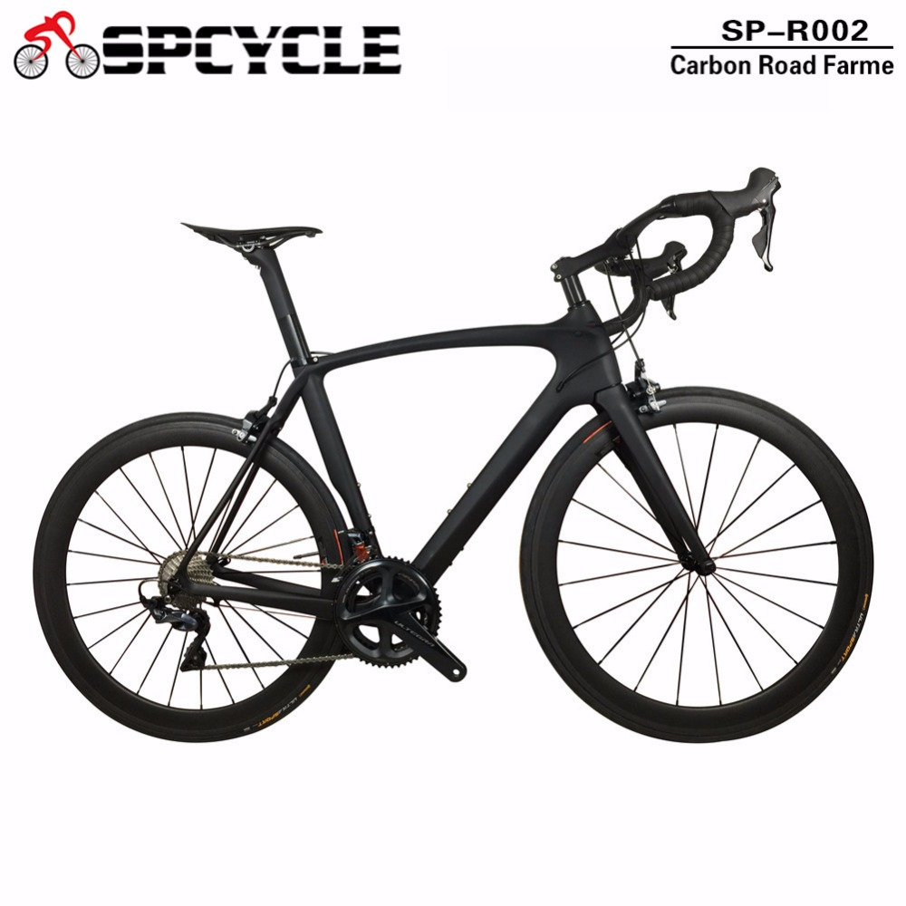 New Complete Full Carbon Road Bike,T1000 Racing Carbon Bike Road Bike with Ultegra R8000 Groupsets,Complete Cycling Carbon Bike callander high quality complete bike full carbon road bike complete t700 carbon frame 48mm carbon wheels handlebar seatpost