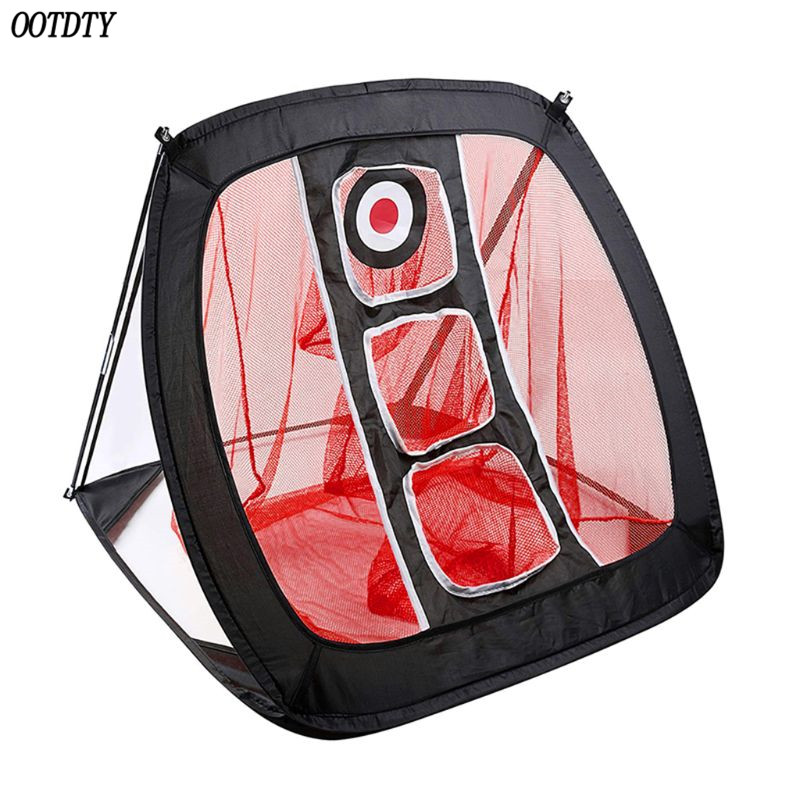 Image 2 - OOTDTY Golf Chipping Net Portable Foldable Outdoor Indoor Target Practice Aid-in Golf Training Aids from Sports & Entertainment