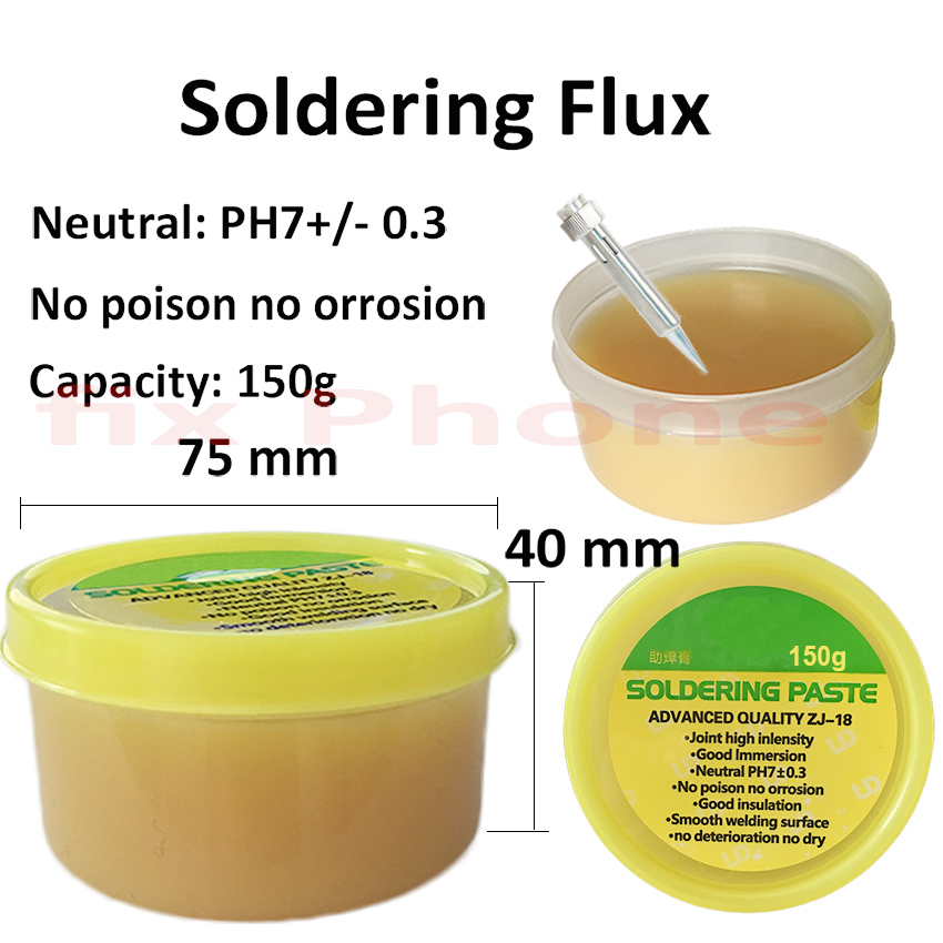 150g Leaded Free Soldering Flux Welding Paste Tin Cream For BGA IC Chip NAND Repair Tools high quality amtech nc 559 asm uv tpf no clean pcb smd bga soldering paste solder lead free flux bga reballing soldering