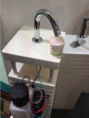 2014 nouveau Design distributeur de savon en mousse capteur de mousse distributeur de savon distributeur automatique de savon distributeur de mousse pour salle de bain - 5