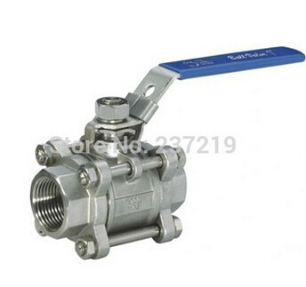 1pcs/lots Free Shipping Free Shipping 3/4 BSP 3PCS Stainless Steel Full Port Ball Valve Vinyl Handle 304 stainless steel 50pcs lots free shipping ppr plug ppr material 3 4 bsp thread with oring good quality fast delivery