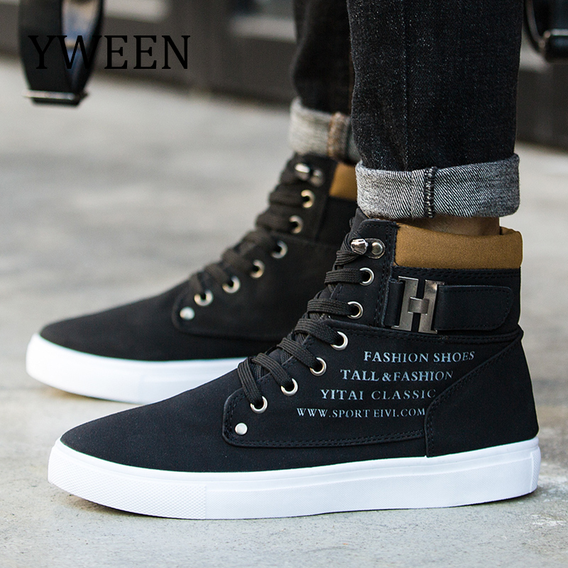 YWEEN New Arrive Men's Winter Shoes High Top New Lace-up Warm Shoes Men Ankle Boots mulinsen new arrive 2017 autumn winter men