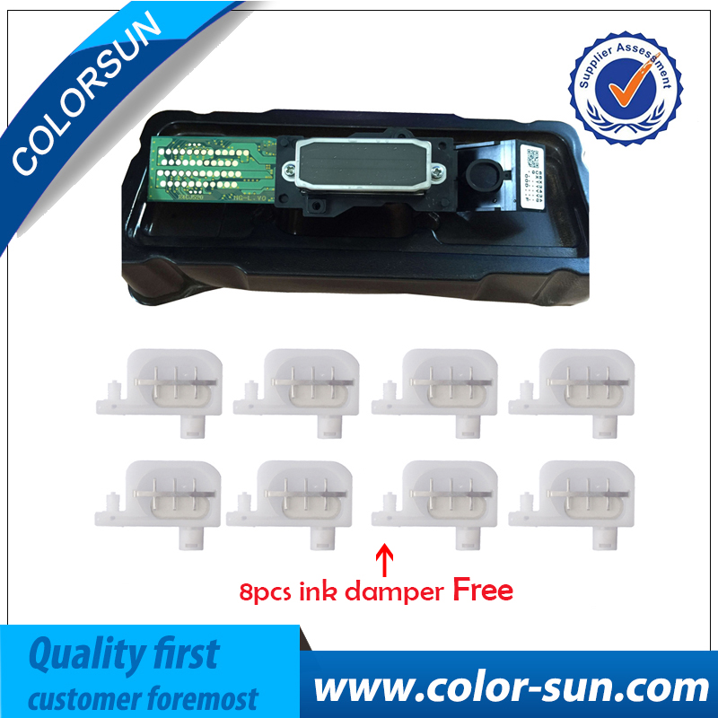 Original Eco Solvent DX4 printhead For Epson Mutoh Roland For Mimaki JV2 JV4 JV3 Print head+8 pcs Ink Damper for DX4 Printhead original eco solvent dx4 for epson mutoh roland for mimaki jv2 jv4 jv3 print head 8 pcs ink damper on high quality printhead