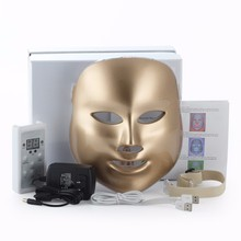 LED Beauty Mask 3/7 Color Photon Electric LED Mask Anti Wrinkle Acne Removal Face Skin Rejuvenation Facial Spa Salon Facial Mask