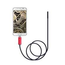 Медицинская камера, USB, Android, 5,5 мм, диаметр объектива, 2 м, эндоскоп, инструмент, телефон, камера для осмотра, камера, змея, видео, мягкая Звездочка для двигателя