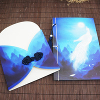 Chinese Style Retro Manual This Line Installed Birthday Gift Book Characteristic Disk Deductions Tassel Printing Diary