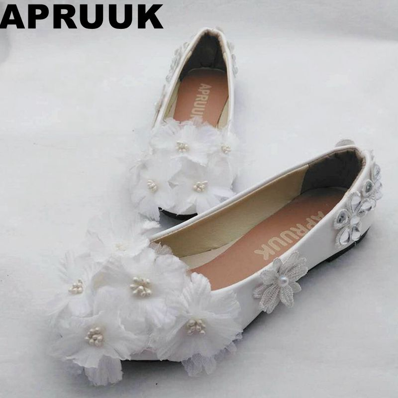 Buy flat bridal shoes and get free shipping on AliExpress.com 0fc9b002ca16