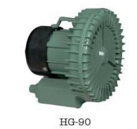 0.09kw Small High Pressure Ring Blower Air Vacuum Pump HG-90