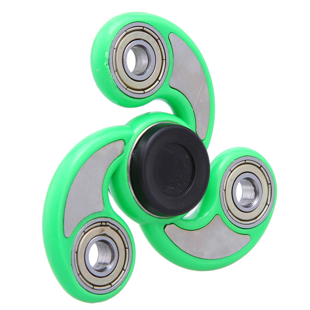 6 Colors Spinner Finger ABS EDC HandSpinner For Kids Autism ADHD Anxiety Stress Relief Focus Handspinner Toys Gift