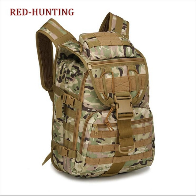 b490d416736 Multicam 40L Tactical Daypack MOLLE Assault Backpack Pack Military Gear  Rucksack Large Bag Sport Outdoor For Hunting Camping