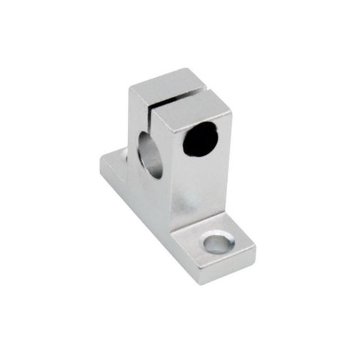 Hot 2pcs SK8 SK10 SK12 SK16 SK20 SK25 SH8A 8mm linear ball bearing rail shaft Side Blocks support XYZ Table CNC 3D printer Part цена