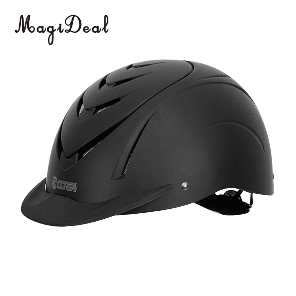 MagiDeal Horse Riding Safety Helmet for Girls Boys with Adjustable Strap Breathable Durable with CE Certification 1