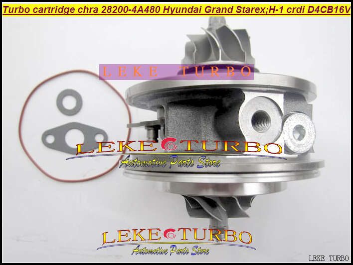 Turbo Cartridge CHRA BV43 28200-4A480 53039880145 53039880127 Turbocharger For Hyundai Grand Starex CRDI H-1 2.5L D4CB 16V 170HP kkk turbo bv43 53039880144 53039880122 chra turbine 28200 4a470 turbocharger core cartridge for kia sorento 2 5 crdi d4cb 170 hp