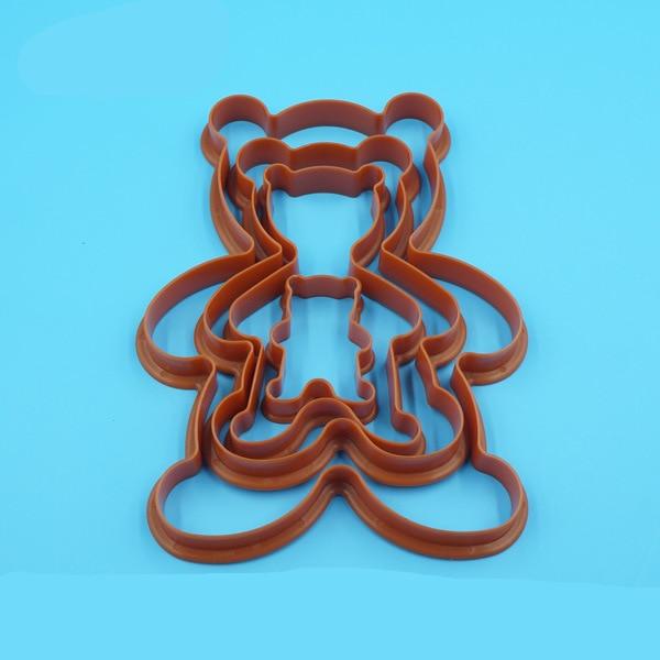 яонова силикформа для выпечки в виде медведя купить в Китае