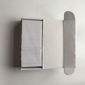 Image 4 - 230 sztuk do druku atramentowego matowe wykończenie plastikowe puste karty pcv do szkoły karty/dowód osobisty/drukowanie karty członkowskiej przez Epson lub Canon