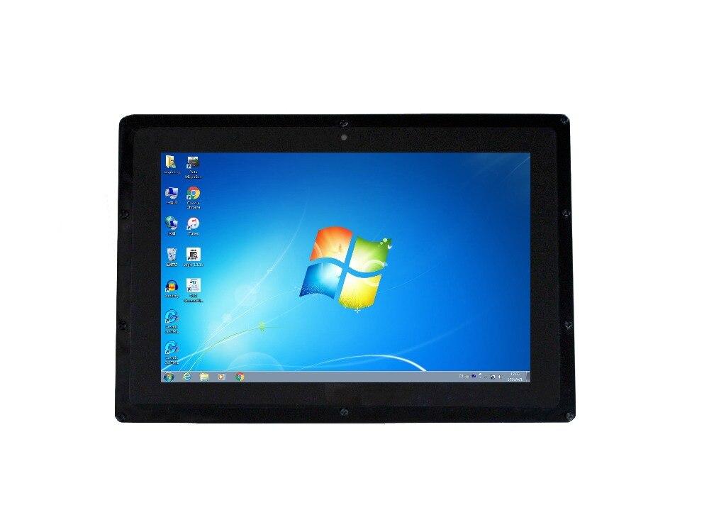 10,1 Zoll Kapazitiven Touchscreen Lcd Mit Fall 1280x800 Auflösung Hdmi Display Ips Für Raspberry Pi Bb Schwarz Computer Monitor