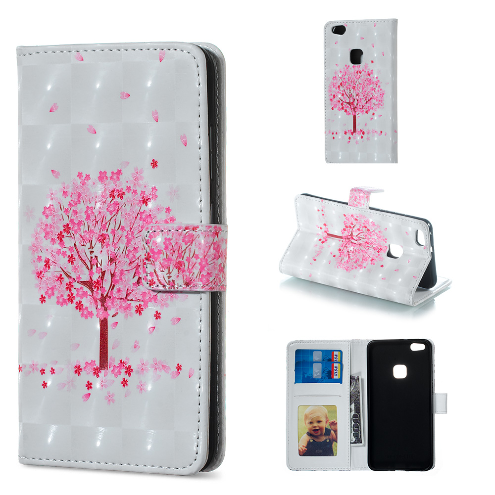 3fc2ba163d179 ᗔfor Huawei P8lite2017 P10 Lite 3D synthetic leather Phone Case ...