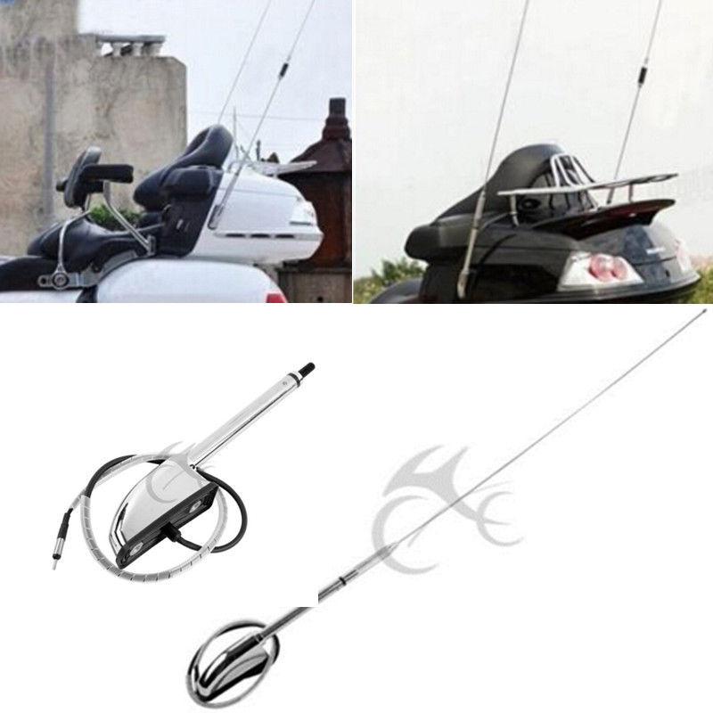Motorcycle Antenna Kit Audio Comfort Navi For Honda Glodwing GL1800 2001-2014 02 04 06 08 Motorcycle Antenna Kit Audio Comfort Navi For Honda Glodwing GL1800 2001-2014 02 04 06 08