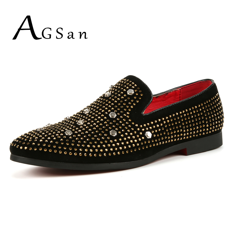 AGSan cool party shoes men golden loafers gentlemen driving shoes sapato masculino couro boat shoes men large sizes black 45 10 men party shoes oxfords 2015 hot men s genuine leather shoes brand sapato masculino couro social round toe palladium shoes 38 46