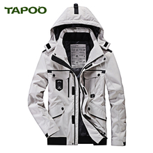 Tapoo Mens Polyester Winter Jackets Thick Casual Outerwear Windproof Handsome Warm Regular Parkas And Coats Hooded725