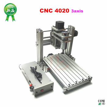 Mini DIY 4020 CNC Metal Milling Machine Mach3 ER11 CNC Woodworking Machine PCB Engraver In Wood Routers jewrlry Machine 2