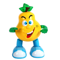 Electric Music Pear Light Multi-Functional Electric Pear Music Dancing Intelligent Universal HobbyLight Pear Yellow