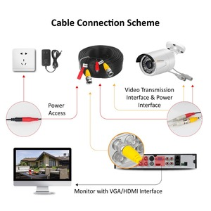Image 5 - Jennov 4CH 5MP DVR AHD Kamera CCTV Set Outdoor Kamera Sicherheit System IP Video Überwachung Kit P2P HD Nachtsicht h.264 IR Cut