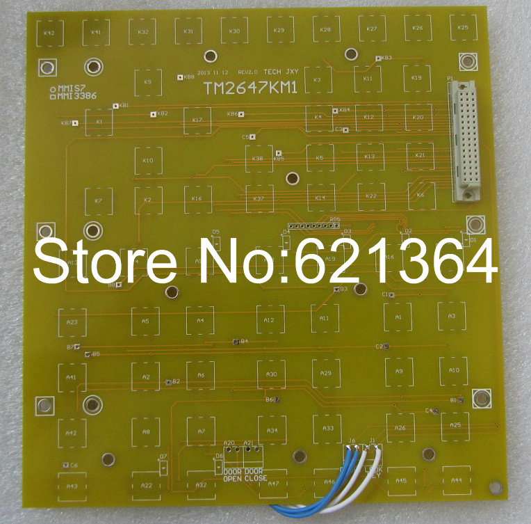 Best Price And Quantity  Brand New TM2647KM1  Keyboard For Industrial Computer