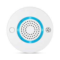 Wanscam WiFi Drahtlose High Sensitive Rauch Feuer Alarm Detektor Sensor Stimme Warnung App Control Monitor Für Home Security PA438W