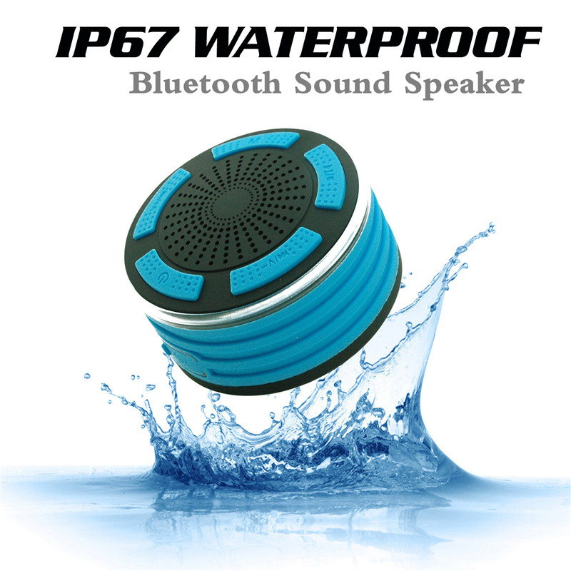 IP67 Waterproof Portable Outdoor Wireless Bluetooth Speaker Loudspeaker Sound System 3D Stereo Music LED Speaker for Phone PC tronsmart element t6 mini bluetooth speaker portable wireless speaker with 360 degree stereo sound for ios android xiaomi player