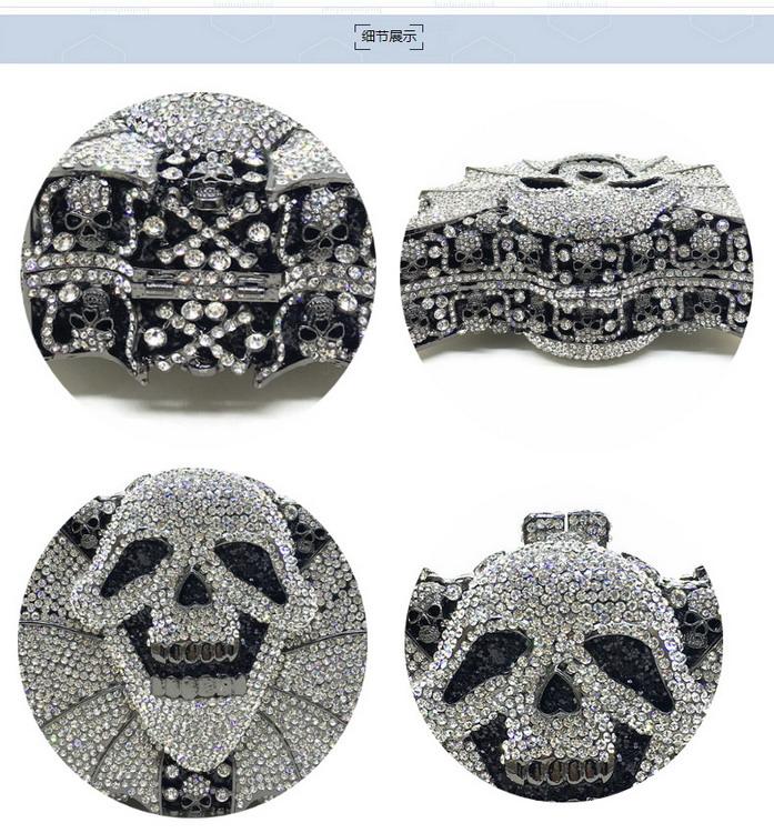 Crystal Women Clutches Handbag (3)