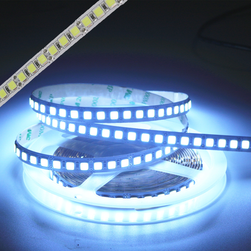 led strip light SMD 5050 Niet waterdicht dc 12v 600led 5m RGB wit - LED-Verlichting